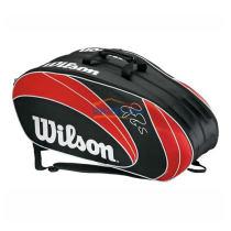 wilson/威尔胜 WRZ833209 9支装网球包 费德勒签名款