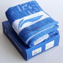 Lining李宁 AMJJ014-1 国家队羽毛球纯棉毛巾