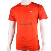 李甯 ATSJ359-4 羽毛球服專業運動短袖T恤男款