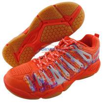 李宁 AYTK057-1 橘色款HERO-2代 英雄男子羽毛球鞋 2015新品
