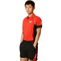 BUTTERFLY蝴蝶BWH261 乒乓球拼装款短袖(张继科款)