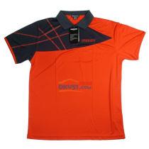 DONIC多尼克83631-216橙色款乒乓球服短袖 透氣性極佳