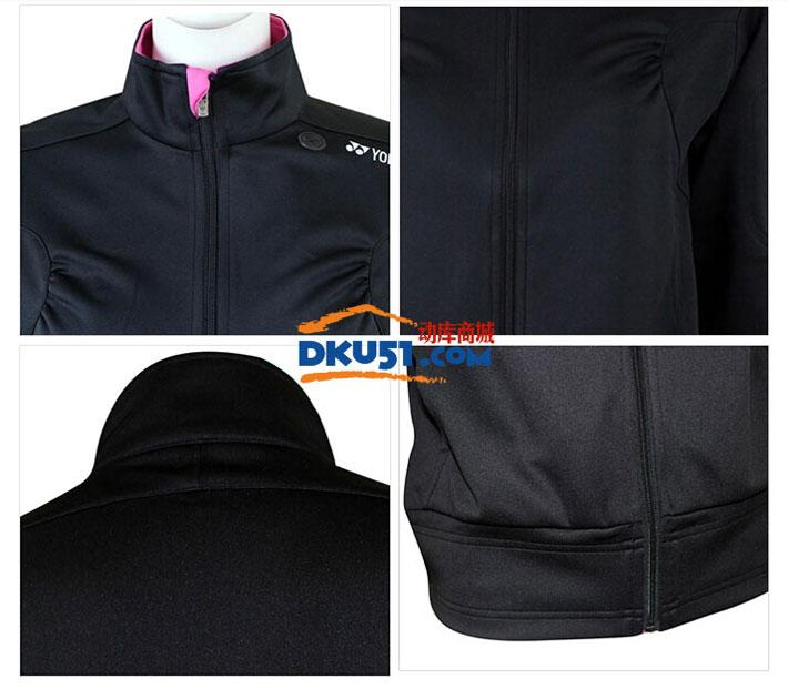 YONEX尤尼克斯 CS4732 女款羽毛球服开衫无帽卫衣