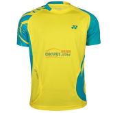 YONEX尤尼克斯 CS1136-402 男款羽毛球T恤 黄色款