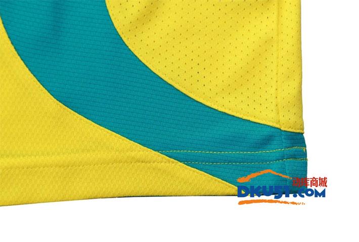 YONEX尤尼克斯 CS1136-402 男款羽毛球T恤 黃色款