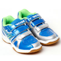 Victor胜利 SHC03F 蓝色款儿童羽毛球鞋(儿童专业羽鞋)