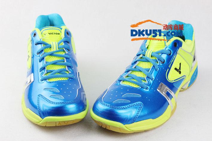 VICTOR胜利 SH-P9100D 蓝色款羽毛球鞋(三效动力转换,湛蓝之心)