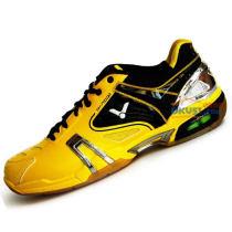VICTOR勝利 SH-P9100E 黃色款羽毛球鞋(三效動力轉換,明黃王朝)