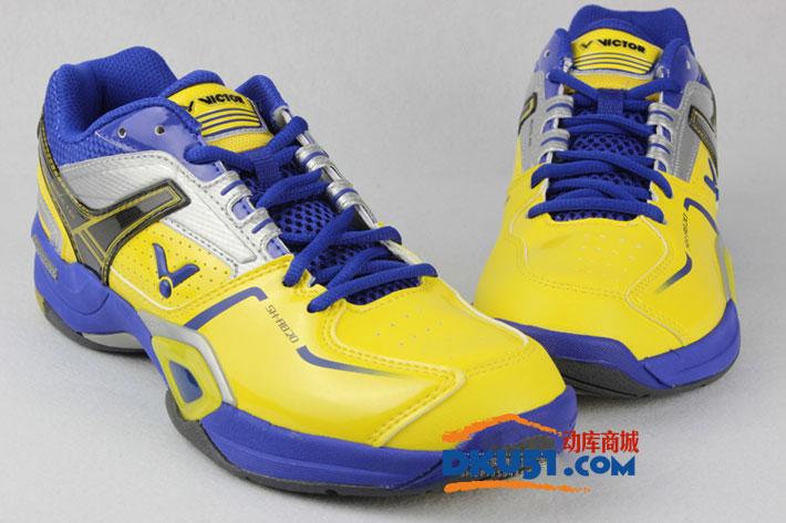 VICTOR胜利 SH-A820 蓝黄款羽毛球鞋(赞助省队装备)