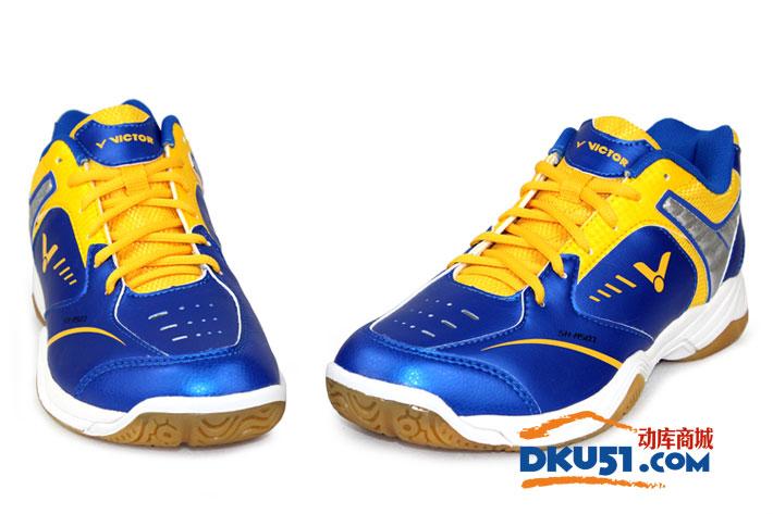 VICTOR胜利 新款SH-A501FE 蓝黄款羽毛球鞋(经典 新色)
