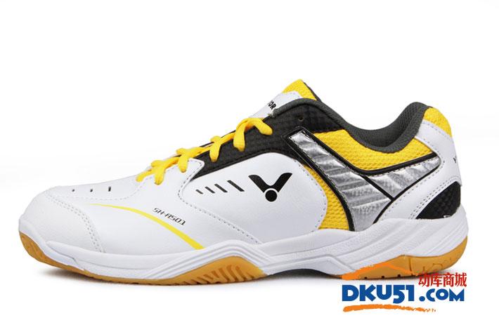 VICTOR勝利 新款SH-A501F 黃白款羽毛球鞋(經典 新色)