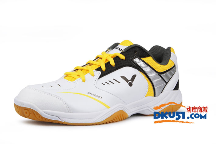 VICTOR胜利 新款SH-A501F 黄白款羽毛球鞋(经典 新色)