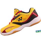 YONEX尤尼克斯 SHB-49C 黄色羽毛球鞋(高性价比 脚感好)
