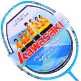 kawasaki川崎 HAPPY KIDS 665 专业儿童拍全碳羽毛球拍