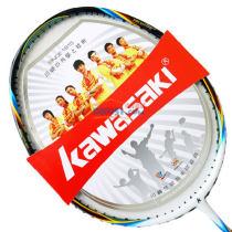 KAWASAKI 川崎 酷锐系列 CORESPEED 80R 羽毛球拍 霓虹蓝