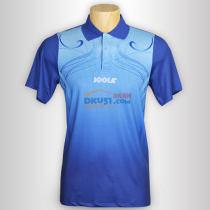 JOOLA优拉 心花怒放683 深蓝色乒乓球短袖(莱卡纤维布材质)