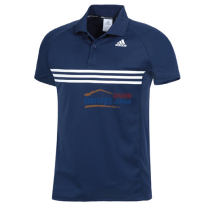 Adidas阿迪達斯 AGM-12119 pure系列乒乓球服 深藍款