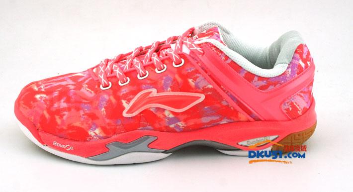 LININIG李宁 AYAK016-1 迷彩全英赛国家队女款羽毛球战靴