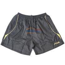 STIGA斯帝卡 G130214 黑黃專業乒乓球短褲(輕便,透氣)