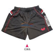 Butterfly蝴蝶专业乒乓球短裤 BWS-322-0201 红黑款