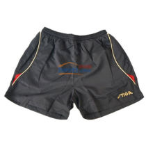 STIGA斯帝卡 G130213 黑红款专业乒乓球短裤(轻便,透气)