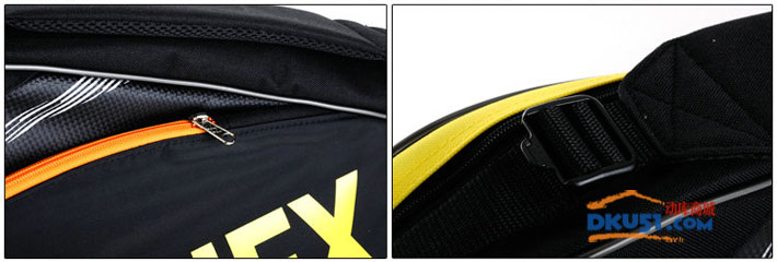 YONEX/尤尼克斯 BAG7323EX 黑色款三只裝羽毛球包