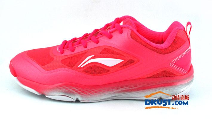 李宁 AYTJ064-1 羽毛球鞋 超轻、防滑女款羽毛球鞋