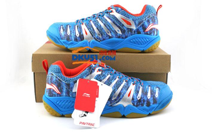 李宁英雄2代TD版AYTK057-3蓝色2015新款羽毛球鞋