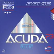DONIC多尼克 Acuda Blue P3 13023 乒乓球套胶(控制能力强,轻易打出金属音)