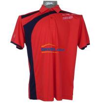 DONIC多尼克 83643 紅色款全滌乒乓球服短袖T恤