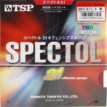 TSP大和20072 SPECTOL 21 Offensive Sponge 李佳薇专用生胶套胶