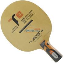 银河 T-4S 桧木+碳素乒乓球拍底板(正胶专用底板)