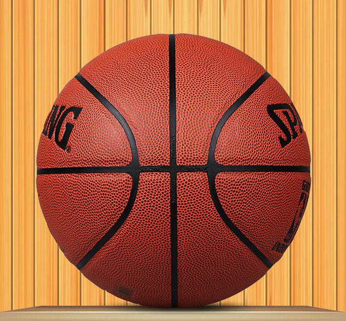 斯伯丁NBA籃球 74-604Y 掌控球場室外室內籃球