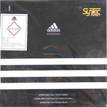 Adidas阿迪達斯 syntec fast 乒乓球套膠(大孔海綿 超強包裹性)