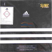 Adidas阿迪达斯 syntec fast 乒乓球套胶(大孔海绵 超强包裹性)