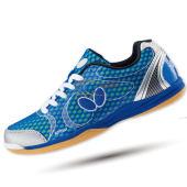 新款BUTTERFLY蝴蝶 UTOP-8 超轻乒乓球鞋 清新蓝色