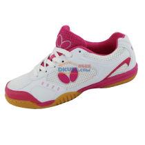 BUTTERFLY蝴蝶 UTOP-5 女款乒乓球运动鞋(玫红)