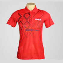 JOOLA优拉尤拉 682矩阵 红色款乒乓球服比赛短袖训练球衣