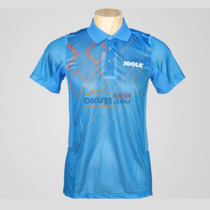 JOOLA優拉尤拉 682矩陣 藍色款乒乓球服比賽短袖訓練球衣