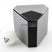 骄猛XIOM 40+新材料无缝六颗装乒乓球(绝对的高大上的包装)