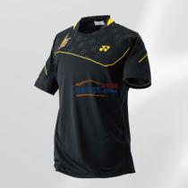 YONEX尤尼克斯 10001LDEX 林丹款黑色羽毛球服 短袖