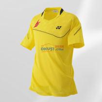 YONEX尤尼克斯 10001LDEX 林丹款黃色羽毛球服 短袖