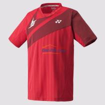 YONEX尤尼克斯 10004LDEX 林丹款羽毛球服 深紅色