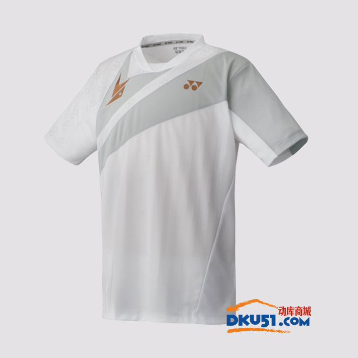 YONEX尤尼克斯 10004LDEX 林丹款羽毛球服 深红色