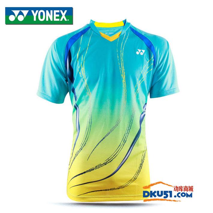 YONEX尤尼克斯 110036BCR 男款羽毛球服 2016年新款