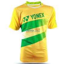 YONEX尤尼克斯 110246-450 黃色男款羽毛球服