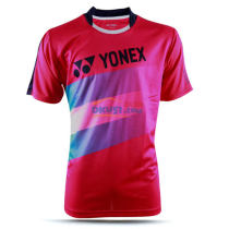 YONEX尤尼克斯 110246BCR-688 紅色男款羽毛球服