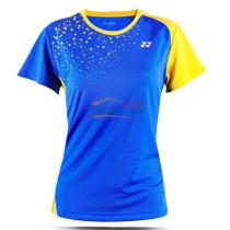 YONEX 尤尼克斯 210186BCR-786 女款羽毛球服(藍色款)