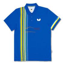 2016新款蝴蝶 BWH-269-0311 藍色款乒乓球服 運動T恤