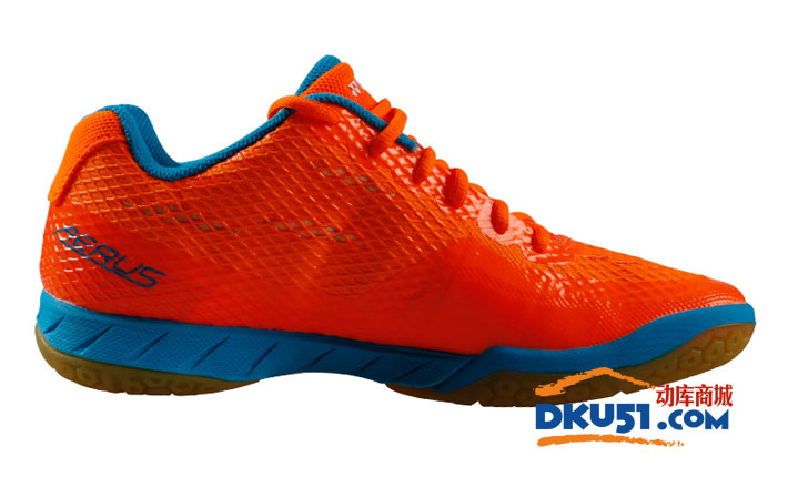 YONEX尤尼克斯 SHB-ALCWEX 男款羽毛球鞋 李宗伟精选系列 橘色款